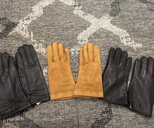 Перчатки женские размеры 7-7,5. Фото 1. Москва.