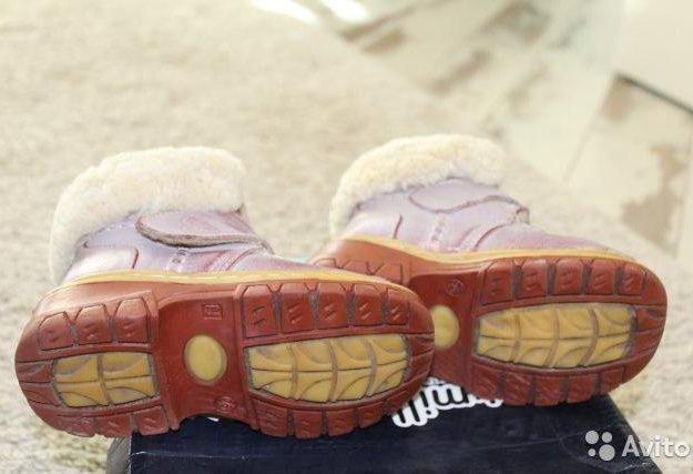 Зимние ботиночки 26 размера. Фото 3. Подольск.