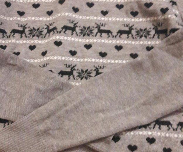 Свитер с оленями. Фото 1. Люберцы.