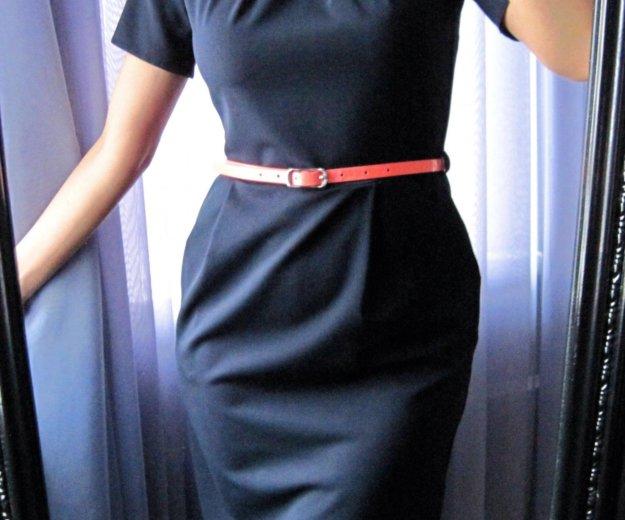 Новое строгое платье миди. Фото 1. Истра.
