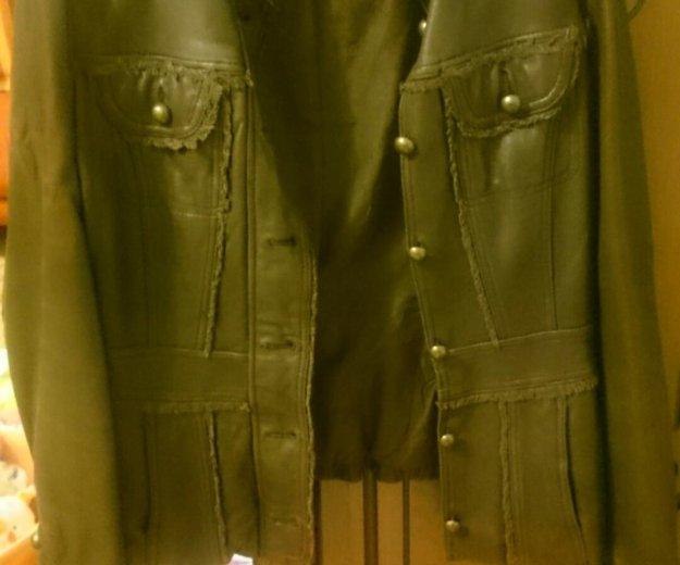 Кожаная куртка. Фото 1. Новороссийск.