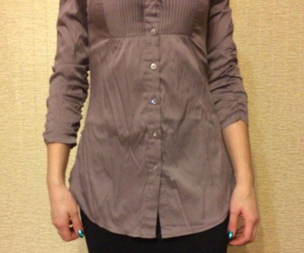 Рубашка удлинённая. Фото 1. Волжск.