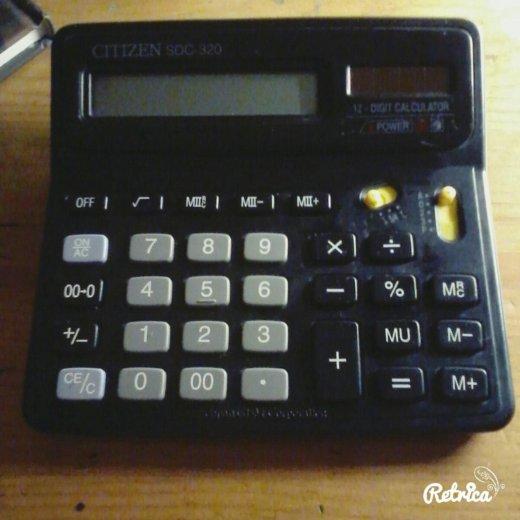 Большой калькулятор. Фото 1. Люберцы.