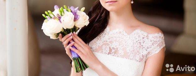 Свадебное платье 42-44. Фото 1. Рязань.