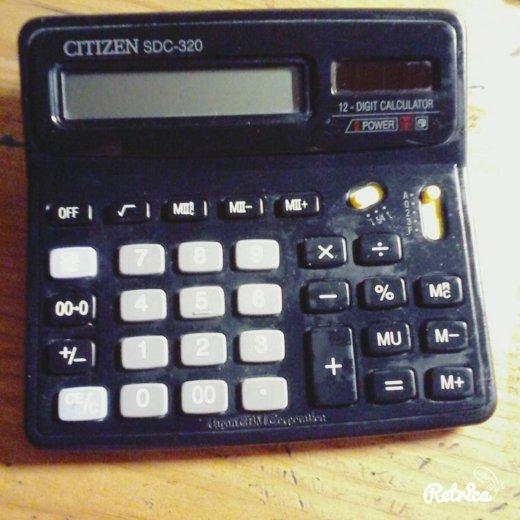 Большой калькулятор. Фото 2. Люберцы.