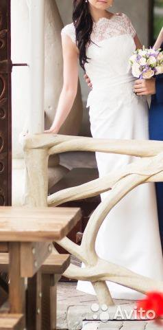 Свадебное платье 42-44. Фото 2. Рязань.
