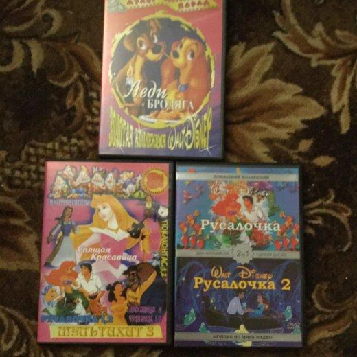 Dvd диски сборники детских мультфильмов для девоч. Фото 1. Электросталь.