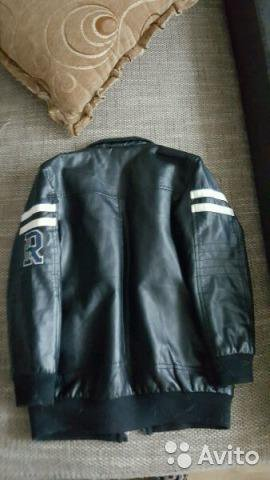 Куртка кожанная осенняя. Фото 2. Светлогорск.
