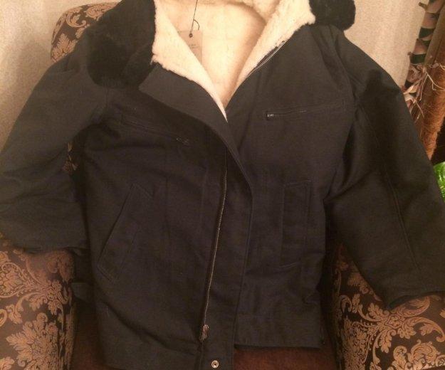 Лётная меховая куртка. Фото 1. Екатеринбург.