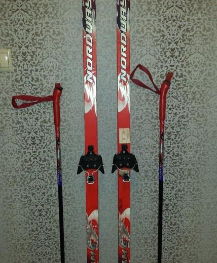 Лыжи детские. Фото 2. Москва.