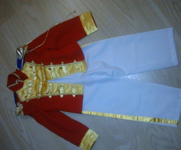 Новогодний костюм гусар размер 110-116. Фото 2. Люберцы.