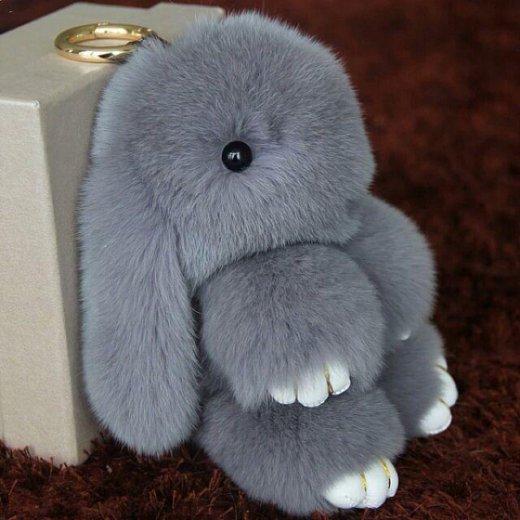 Кролики из натурального меха кролика . Фото 2. Москва.