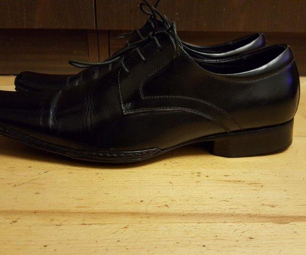 Кожаные туфли. Фото 2. Зеленоград.