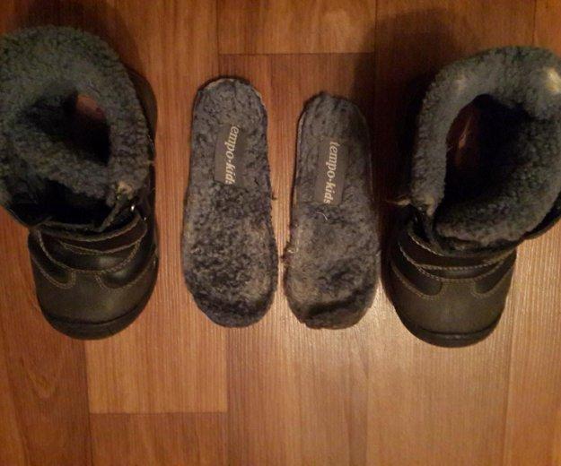 Зимние ботинки на овчине. Фото 2. Москва.