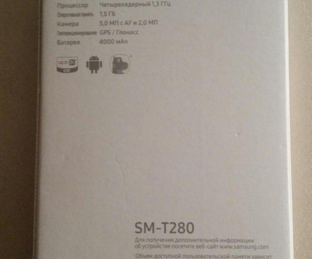 """Samsung galaxy tab a sm-t280 """"7"""" 8gb wi-fi. Фото 2. Москва."""
