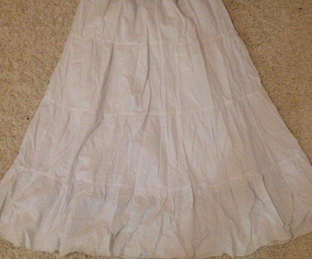 Белая юбка. Фото 1. Химки.