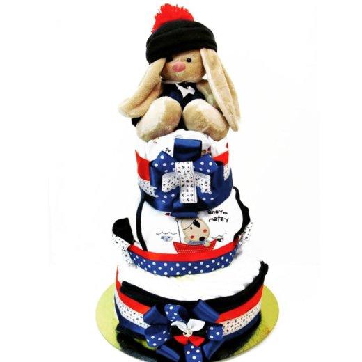 Торт из памперсов подгузников. Фото 1. Екатеринбург.