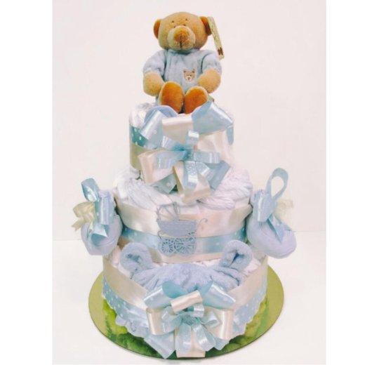 Торт из памперсов подгузников. Фото 2. Екатеринбург.