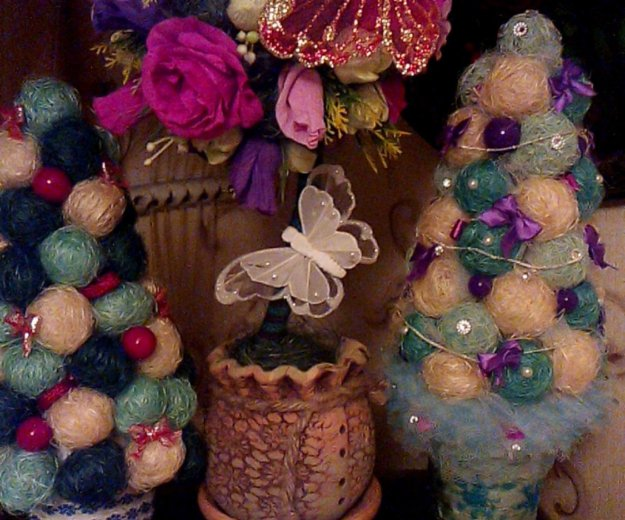 Новогодняя елочка - топиарий. Фото 2. Москва.