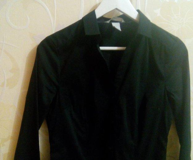 Чёрная женская блузка. Фото 2. Санкт-Петербург.
