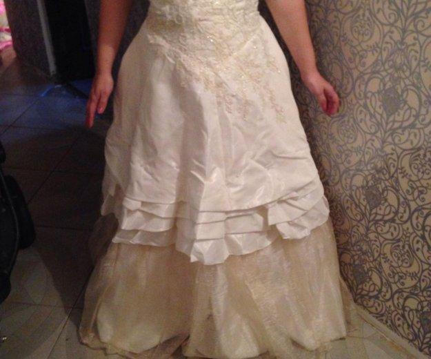 Свадебное платье. Фото 1. Орехово-Зуево.