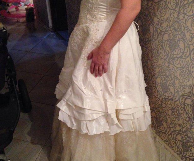Свадебное платье. Фото 2. Орехово-Зуево.