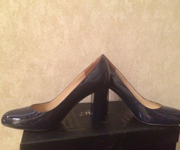 Туфли- натуральный лак. Фото 1. Тула.