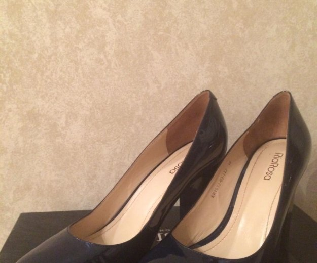 Туфли- натуральный лак. Фото 2. Тула.