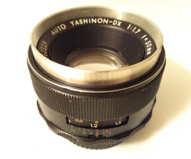 M42 yashica yashinon dx 50/1.7. Фото 1. Москва.