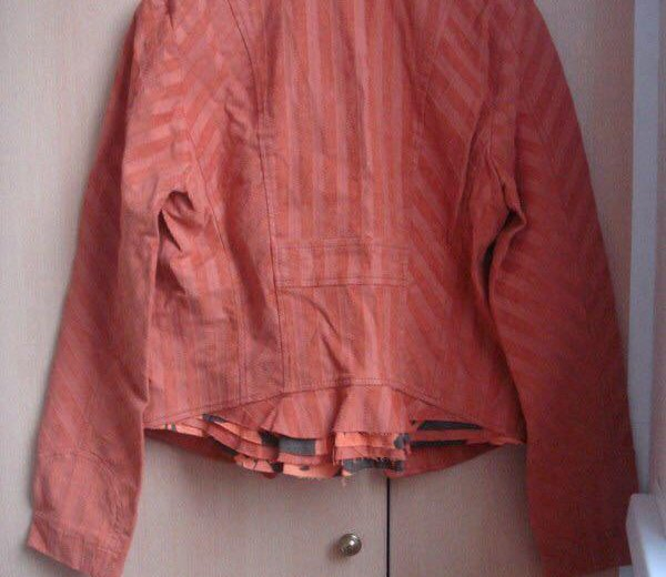 Пиджак оранжевый lo. Фото 4. Москва.
