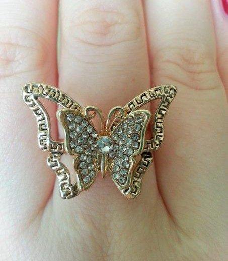 Кольцо-бабочка. Фото 1. Зеленоград.