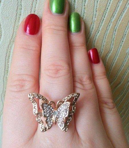 Кольцо-бабочка. Фото 3. Зеленоград.