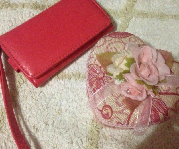 Чехол/сумочка для телефона и шкатулка. Фото 3.