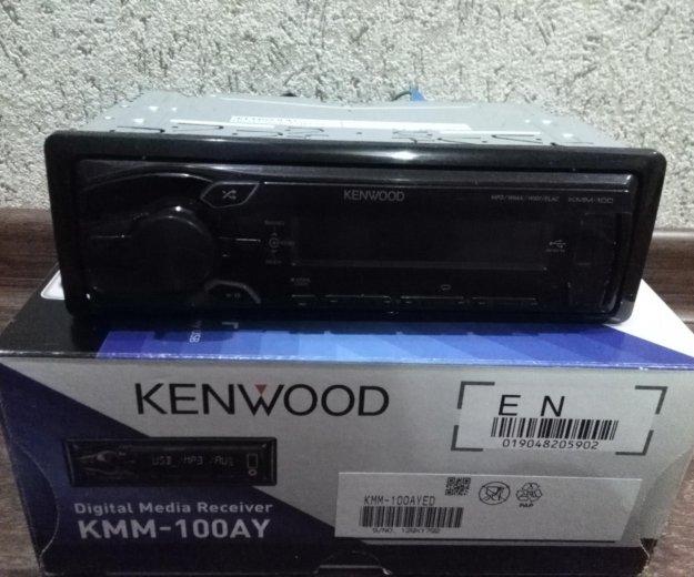 Автомагнитола kenwood kmm-100ay. Фото 2. Ярославль.