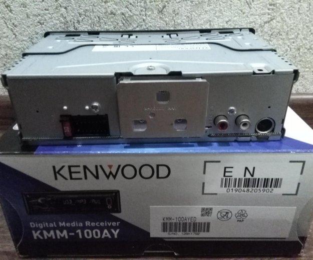 Автомагнитола kenwood kmm-100ay. Фото 4. Ярославль.