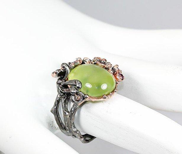 Кольцо из серебра с позолотой. Фото 3. Москва.