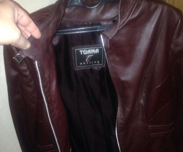 Женская кожаная куртка. Фото 2. Санкт-Петербург.