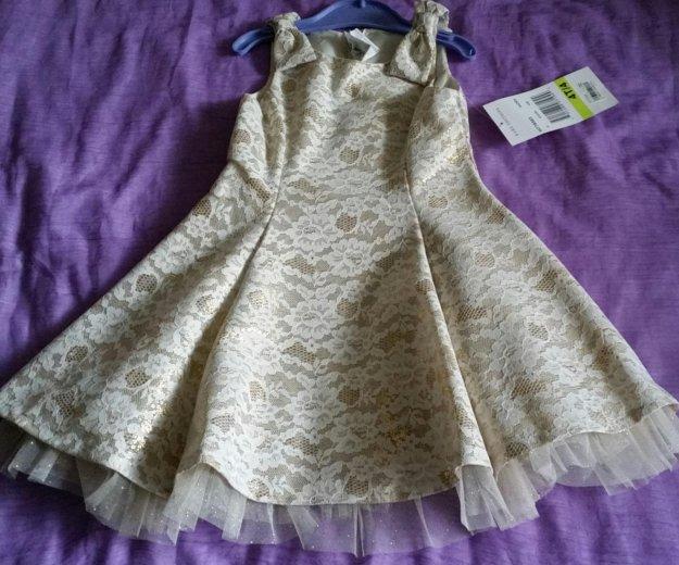 Новое платье для девочки 4-5 дет. Фото 1. Москва.
