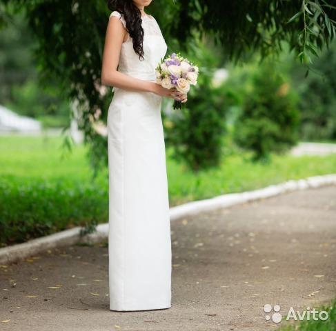 Свадебное платье 42-44. Фото 3. Рязань.