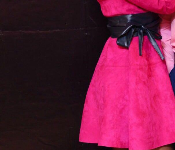 Платье бархатное с поясами. Фото 4. Москва.