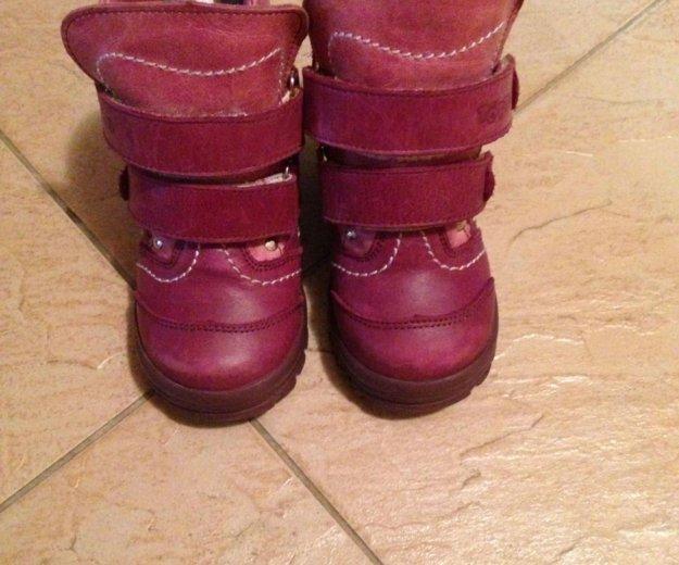 Продам детские зимние сапоги. Фото 3. Краснодар.