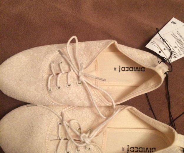 Туфли ажурные h&м. Фото 1. Химки.
