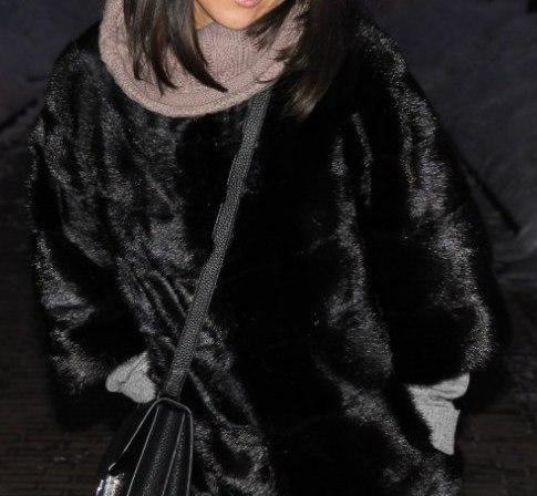 Шуба из норки(чёрная), размер 44-46. Фото 3. Москва.