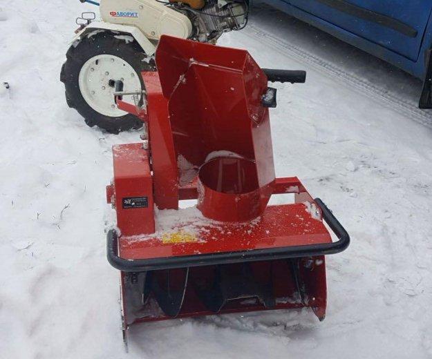 Снегоуборщик на мотоблок. Фото 2.