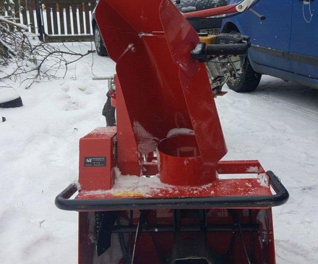 Снегоуборщик на мотоблок. Фото 1.