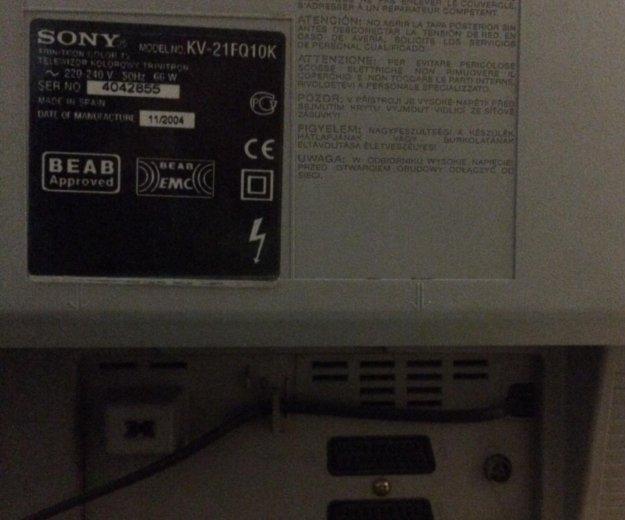 Телевизор sony trinitron kv-21fq10k stereo. Фото 2. Москва.