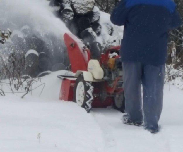 Снегоуборщик на мотоблок. Фото 3.