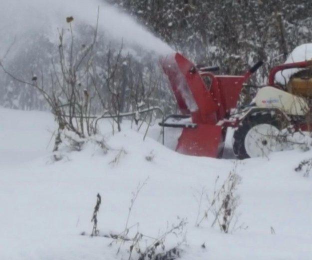 Снегоуборщик на мотоблок. Фото 4.
