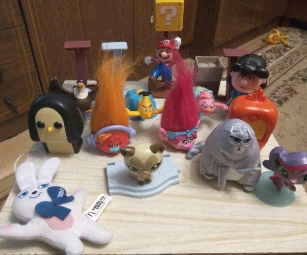 Игрушки из макдональдс. Фото 1. Пушкино.