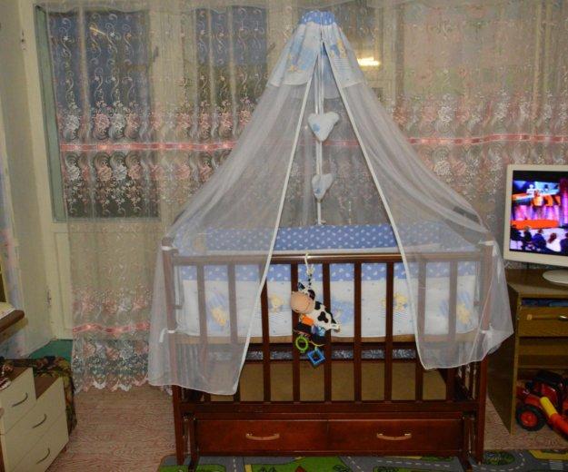 Кроватка маятник. Фото 1. Волжский.